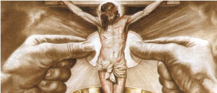 Cristo, Nuestra Víctima, ha sido inmolado