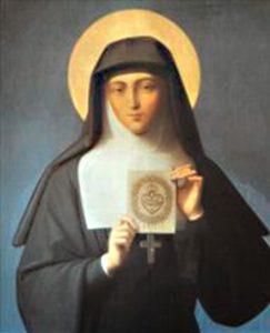 Santa Margarita Mª Alacoque, Apóstol del Sagrado Corazón de Jesús