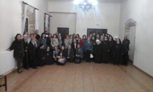 Encuentro con las Carmelitas Samaritanas del Corazón de Jesús en Valdediós
