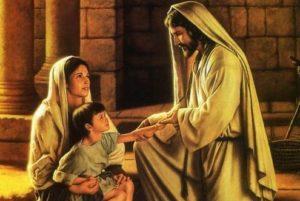 Festejar la Sagrada Familia: Jesús, María y José , Familia a contemplar
