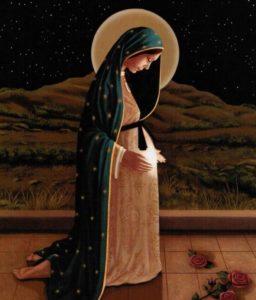 María nos enseña a acoger al Señor