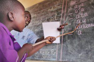Por la evangelización: Los jóvenes de África