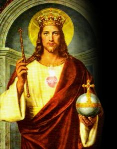 Cristo Rey : Reina desde el Amor y la Entrega